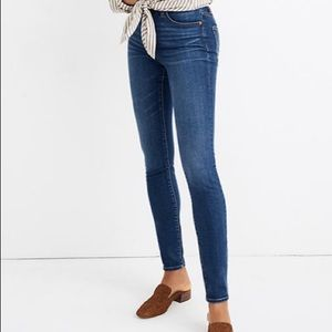 Madewell curvy high rise Hayes skinny jeans 27